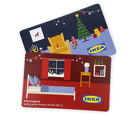 IKEA Aktionskarten Gutschein